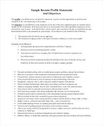 Career Change Resume Objective Examples