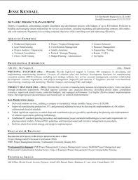 Sample Project Manager Resume Healthcare