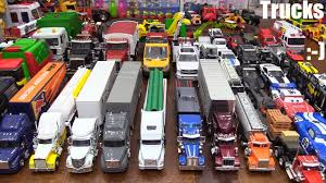 Toy Cars & Trucks: Semi Trucks And Cars Diecast Collection. Disney ...