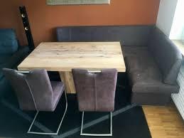 esszimmer kombination massivholz esstisch eckbank 2x stuhl