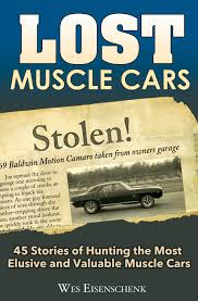 Lost Muscle Cars NOVA COPO CAMARO CHEVELLE Z16 YENKO BALDWIN MOTION SS 427 BOOK