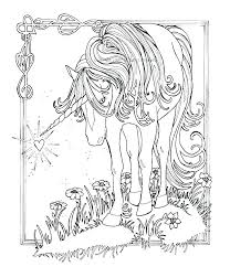 Coloring Pages Unicorns Hard Unicorn As Well Free