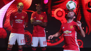 Juan Mata Juggles The Ball During Manchester Uniteds Kit Launch