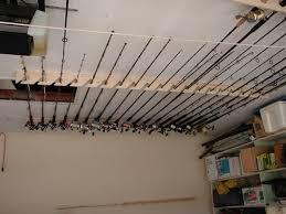 ceiling rod rack ideas http www thehulltruth com sportfishing