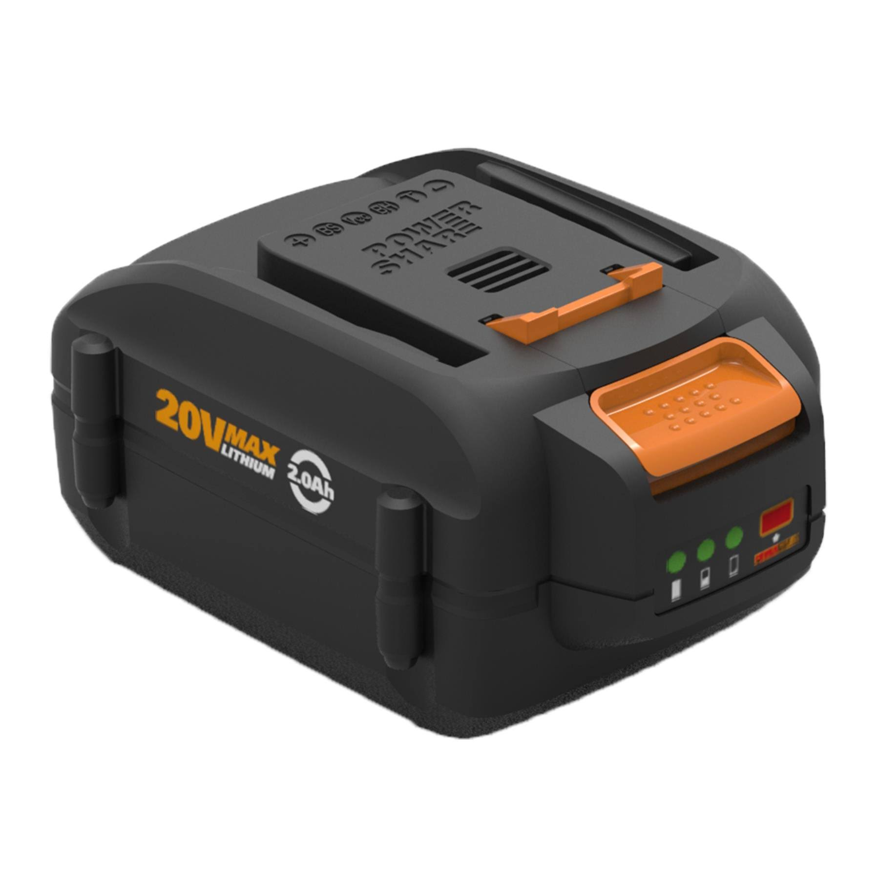 Worx Lithium-ion High Capacity Battery - 20V, 4.0 Amp