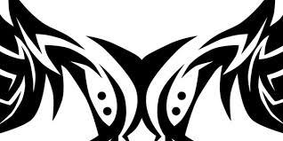 Drawn Tattoo Shoulder Blade 2