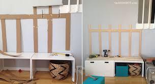 DIY mudroom Ikea Hack