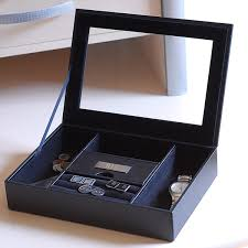 Dresser Valet Watch Box by Men U0027s Personalized Valet Box Free Shipping On Orders Over 45