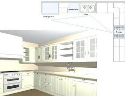 L Shaped Kitchen Layout Design Plans