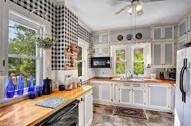 cottage kitchen with slate tile floors large ceramic tile in