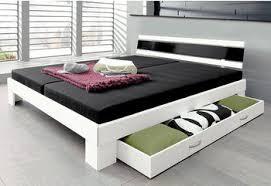 breckle futonbett mit ausziehbaren regalen im kopfteil