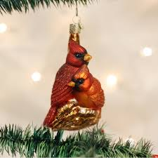 14 Most Beautiful Bird Christmas Tree Ornaments