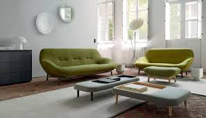 100 Ligne Rosse Contemporary Sofa Fabric By Philippe Nigro 2person