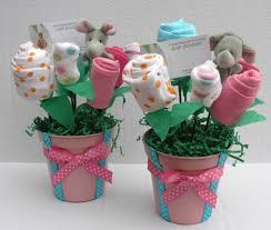 2 baby girl shower centerpieces baby clothes babyblossomco