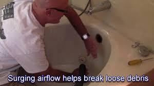 bathtubs beautiful plunging bath drain 12 baking soda and