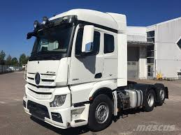100 Mercedes 6 Wheel Truck Used Benz Actros 2551 X2 Euro Tractor Units Year 2014