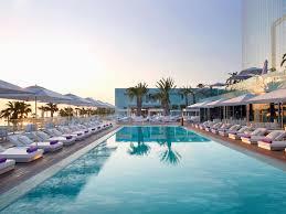 100 W Hotel In Barcelona Spain Poolside Bar At SPAIN Pinterest