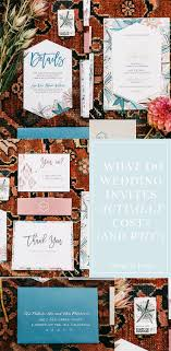 What do Wedding Invitations ACTUALLY Cost