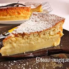 cuisine actuelle recette gâteau magique à la vanille recette recette gateau magique
