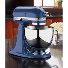 Shop KitchenAid KSM150PSBW Blue Willow 5 Qt Tilt Head Stand Mixer