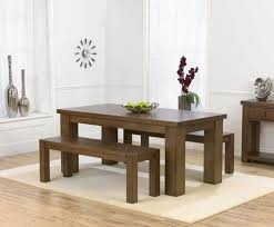 Wooden Table And Bench Set Fabulous Dining Room Furniture Benches Audacious Tables