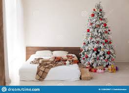 100 White House Master Bedroom Christmas Tree In The Bed Holiday Gifts New