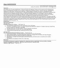 Sample Resume For Production Operator Operations Manager Objective