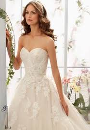 wedding dress 2877 rose patterned embroidery crystal beading