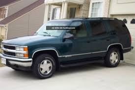 Chevrolet Tahoe 5 7 1997 Review Specifications and s