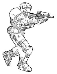 Free Printable Halo Coloring Pages For Kids Throughout