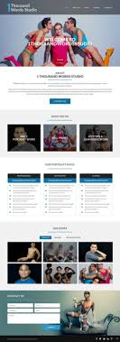 Modern Personable Professional Photography Web Design By Pb