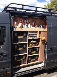 Van Racking, Tool Storage, Work In Progress | Garage Workshop ...