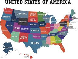 Us Map State And Capital Quiz Capitals Game Usa