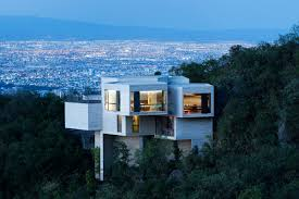 100 Cantilever House Ed Modern Stunner Nods To LAs Hillside Homes Curbed