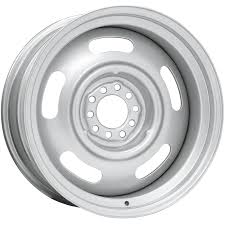 16x8 Chevy Style Silver | 5X5