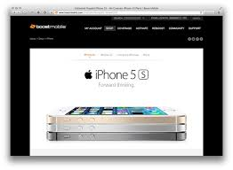 Boost Mobile to offer iPhone 4s iPhone 5s and 5c starting
