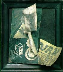 Still Life With Chair Caning Wikipedia by Glass Dice And Newspaper 1914 Musee Picasso Paris Google