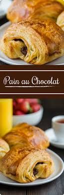 Pain Au Chocolate Croissants Recipe