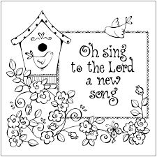 Christian Coloring Pages Bible Verses