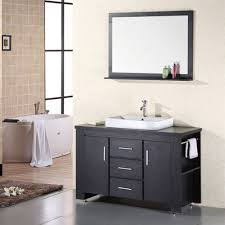Design Element Washington 48-in Single Sink Bathroom Vanity | Lowe's ... Design Element Milan 24 Bathroom Vanity Espresso Free Shipping 78 Ldon Double Sink White Dec088 36 Single Set In Galatian 88 With Porcelain Stanton 72 W Vessel Inch Drawers On The Open Bottom Dec074sw Citrus 48inch Solid Wood W X 22 D 61 Gray Marble Hudson 34 H
