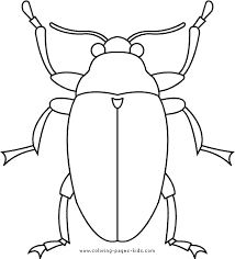 Bug Creature Bugs Coloring Pages Color Plate Sheetprintable Picture