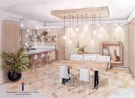 aménagement cuisine salle à manger best amenagement salle a manger contemporary design trends 2017
