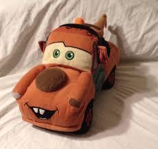 Disney Cars 2 Tow Mater Plush Truck Pillow Stuffed Toy 15