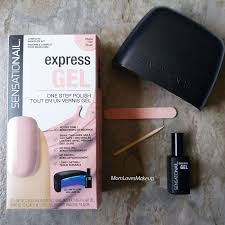 Sensationail Led Lamp Instructions mom loves makeup beginners guide to an at home gel manicure