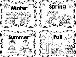 Seasons Coloring Pages Printable Free Winter Spring Summer Fall Page Shopkins 4