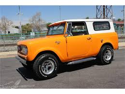 1961 International Scout For Sale | ClassicCars.com | CC-1088083 Off Road 4x4 Trd Four Wheel Drive Mud Truck Jeep Scout 1970 Intertional 1200 Fire Truck Item Da8522 Sol 1974 Ii For Sale 107522 Mcg 1964 Harvester 80 Half Cab Junkyard Find 1972 The Truth 1962 Trucks 1971 800b 1820 Hemmings Motor Restorations Anything 1978 Terra Pickup 5 Things To Do With 43 Intionalharvester Scouts You Just Heres One Way To Bring An Ihc Into The 21st Century