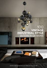 100 vintage industrial style interior designs dining and