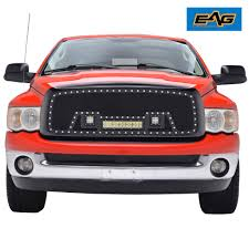 02-05 Dodge Ram 1500 LED Grille Replacement Rivet Black SS Wire Mesh ... For 9402 Dodge Ram Diamond Mesh Front Upper Bumper Grille Guard 10 Modifications And Upgrades Every New Ram 1500 Owner Should Buy 0205 Hs Polished Stainless Spiderweb Insert Status Grill Custom Truck Accsories Pu All Models Billet 1 Pc Full Custcargrillscom Car Grills Mopar 5uq43rxfab Rebel 32018 Install New Grill In 2500 Laramie Youtube Steelcraft 502260 23500 02018 0305 3500 Black