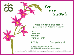 Arbonne Spa Party Skinny For Summer Ud Jpg By Macaron Hoarder How To Set Up Your Makeup Invitations Mugeek