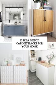 15 ikea metod cabinet hacks for your home shelterness